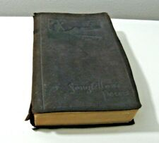 book rare poetical antique works longfellow humphrey milford 1917 suede cover