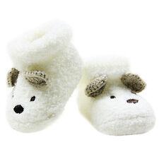 NEW Warm Newborn Socks Unisex Baby Boy Girls Infant Cute Crib Warm Shoes AU D8G2