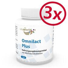 Pack de 3 Omnilact Plus Lactobacillus 300 Capsules Vita World Pharmacie