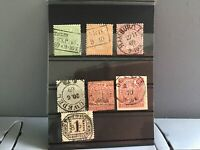 North German Confederation 1869 used stamps R30382