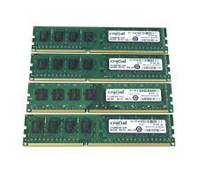 Crucial 16GB 4x4GB PC3-12800U Dell OptiPlex 790 780 580 990 980 DT MT SFF Memory