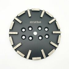 "Grit 30 soft bond Premium Black Diamond Disc 10""/250mm Grinding wheel 20 Seg"