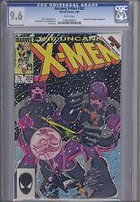Uncanny X-Men 202  CGC 9.6 1986 Marvel;  Sentinels and Beyonder Secret Wars X