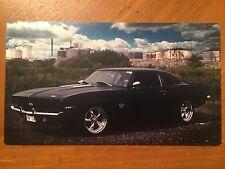 Tin Sign Vintage 1968 Camaro SS 396
