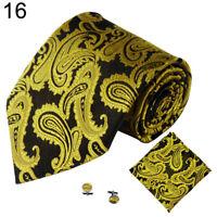NE_ Men Decor Paisley Floral Fashion Business Wedding Party Suit Tie Necktie Hot