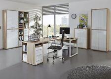 Arbeitszimmer Büro Büroeinrichtung Büromöbel MAJA Set+ Plus SET 3 in (EN/WG)