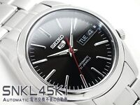 SEIKO 5 SNKL45 SNKL45K1 21 Jewels Automatic Ready to Ship !