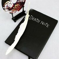 Death Note Cosplay Notebook Book + Feather Pen Anime Writing Journal Diary