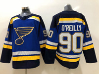 Ryan O'Reilly ST.LOUIS BLUES JERSEY #90 MEN PLAYER GAME ICE HOCKEY