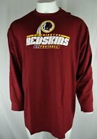 Washington Redskins NFL Men's Long Sleeve Two Hit T-Shirt