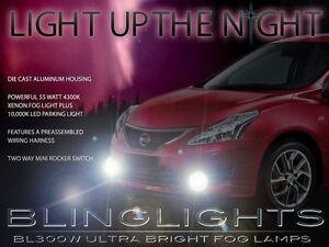 Xenon Fog Lamps Driving Lights Kit for Nissan Tiida