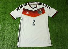 GERMANY TEAM 2 2014/2015 PLAYER ISSUE FOOTBALL SHIRT JERSEY ADIDAS HOME ORIGINAL