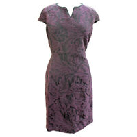 Barbour Womens Swinburn Dress Damson Print - Size 8 & 18 - RRP £99