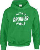 Hes My Drunker Half St Patricks Day Funny Couple Costume Joke Humor Mens Hoodie