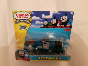 Thomas The Tank Engine Friends TAKE ALONG N PLAY FERDINAND DIECAST NEW & BOX