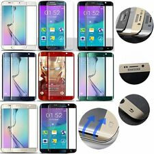 FULL CURVED 3D TEMPERED GLASS LCD SCREEN PROTECTOR FOR GALAXY S6 EDGE Plus