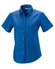 Blouse Short Sleeve Regular Formal Tops & Shirts for Women
