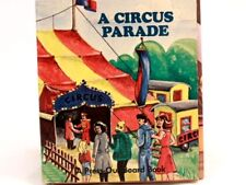 NEW and RARE! 1982 A Circus Parade. Press Out Book. By Smeets Offset. 3BR