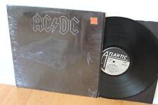 "AC/DC LP ""Back In Black"" ~ Atlantic 16018 ~ 1980 RL Masterdisk ~ CLEAN in Shrink"