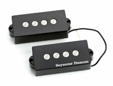 Seymour Duncan SPB-3 Basslines Quarter-Pound Single Coil P-Bass Pickup Set Black