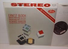 AMS 16098 Bloch Concerto Grosso No.1 Eastman-Rochester Sym Howard Hanson HP TAS