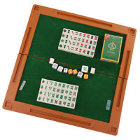 Mini 144 Mahjong Tiles Chinese Traditional Mahjong Mah-Jong Travel Game Set