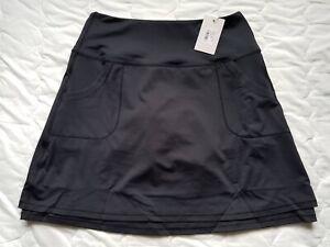 1 NWT WOMEN'S PETER MILLAR SKORT, SIZE: SMALL, COLOR: BLACK (J302)