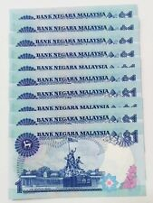 10 Pcs ES 9573031-40 Without Security Thread UNC  RM1 Jaffar Hussein  Malaysia