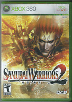 🔥🔥🔥 Samurai Warriors 2 (Microsoft Xbox 360, 2006) (w/ Manual) 🎮🎮🎮