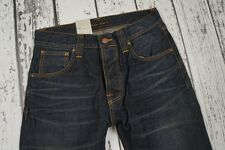 BNWT NUDIE JEANS DENIM NJ4070 STEADY EDDIE INDIGO NIGHT ORGANIC 29/32 W29 L32