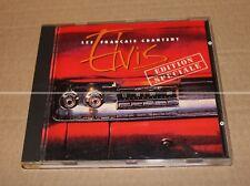 LES FRANCAIS CHANTENT ELVIS (Johnny HALLYDAY...) - CD PROMO - COLLECTOR
