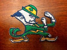 Notre Dame  Fighting Irish Embroidered Iron On Sew On Patch  USA SELLER 4 inches