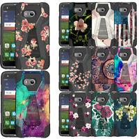 Untouchble Case For HTC U11 / U11 Ocean, Hybrid Dual Layer Kickstand Girly Cover
