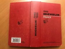 Guide Michelin France 1986