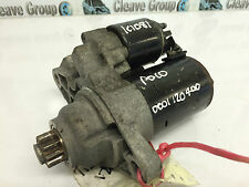 VW Fox Polo used Starter motor 1.2i 2006 Bosch 0001120400 2002-2005