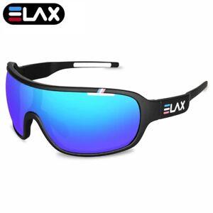 New Cycling Glasses Goggles Sunglass Bike Sports  Polarized Glass Retro Mirrored