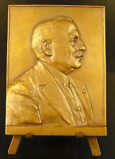 Médaille Henri Genin sc Ernet Dubois 80 mm vers 1930 medal