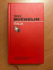 Guide Michelin Italia 1993