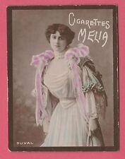 Cigarettes Melia Alger Algeria Cigarette Tobacco Card Tirage B Coloured - Duval