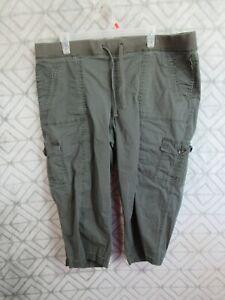 Sonoma Women/'s Modern Fit Capri Pants UPick Size /& Color NEW TL92