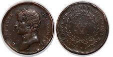 Essai  2 francs Bonaparte par Jaley d'après le procédé de Gengembre 1802