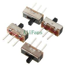 20PCS 3Pin SS12D00G3 2 Position SPDT 1P2T PCB Panel Mini Vertical Slide Switch A