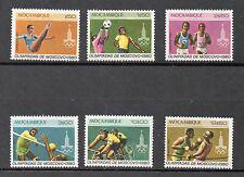 Mozambique Deportes olimpiada de Moscú SAerie del año 1980 (CP-565)