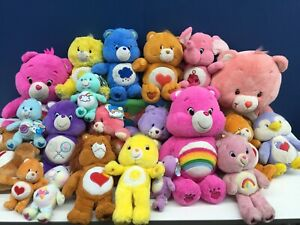 Modern Used LOT 20 TCFC Nanco Care Bears Plush Toys Sunshine Grumpy Cousins