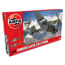 Airfix Junkers Ju87R-2/B-2 Stuka (Scale 1:48) Model Kit A07115 NEW