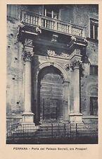 FERRARA - Porta del Palazzo Sacrati, ora Prosperi