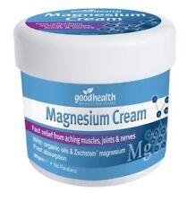 Magnesium Cream ORGANIC oils & Zechstein magnesium 90g muscles pain relief