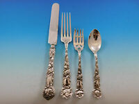 Carnation by Wallace Sterling Silver Regular Size Setting s 4pc