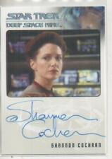 "Star Trek DS9 Heroes/Villains Auto Card Shannon Cochran ""Kalita"""