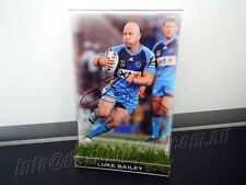 ✺Signed✺ LUKE BAILEY Photo & Frame PROOF COA Gold Coast Titans NRL 2018 Jersey